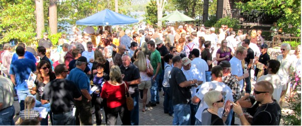Brewfest always attracts a large crowd to Lake Arrowhead.