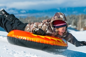 Snow tubing is available at Snowdrift in Running Springs.