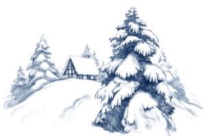 winter vacation Lake Arrowhead