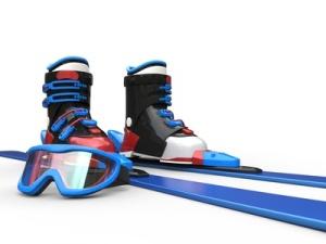 skiing Lake Arrowhead
