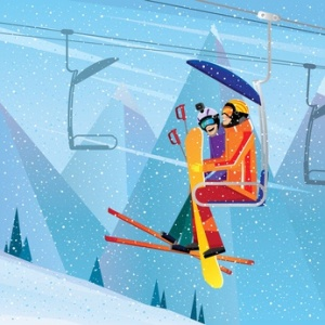 Lake Arrowhead area Ski Lift