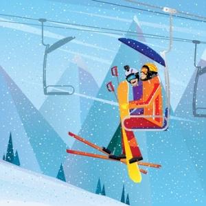 Lake Arrowhead area Ski Lift
