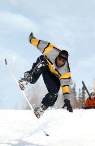 Snowboarding Lake Arrowhead