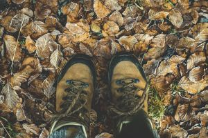 Hiking boots Lake Arrowhead