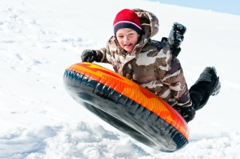 Snow Tubing Inner Tube Snow Play Running Springs
